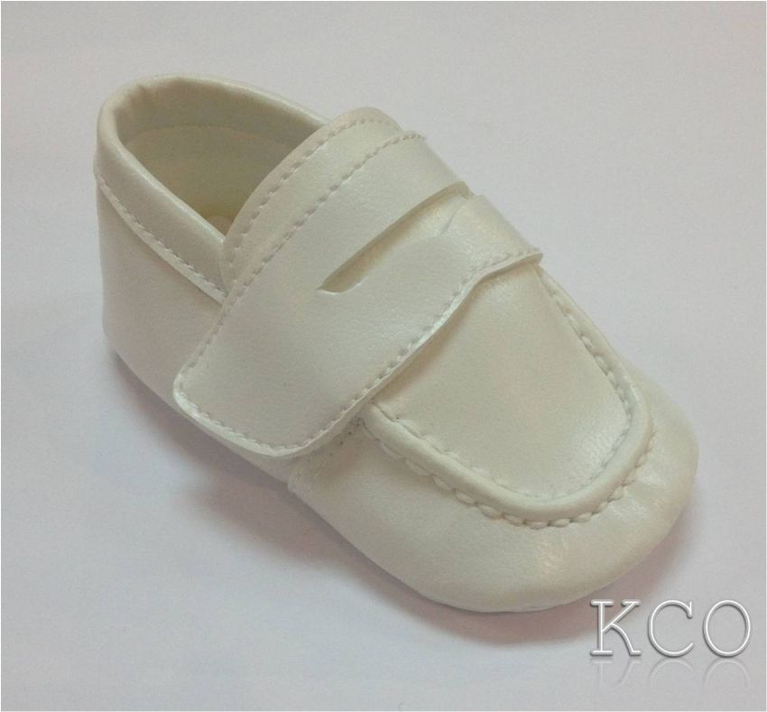 Style FJS001 Ivory~Boys Shoes
